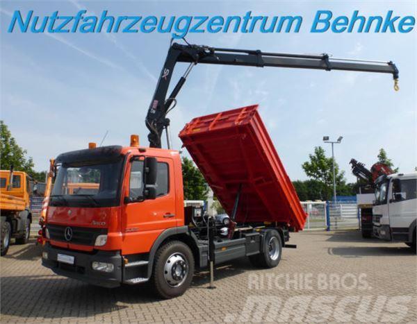 mercedes benz atego 1223 kipper hiab 099 duo hi haus 2x. Black Bedroom Furniture Sets. Home Design Ideas