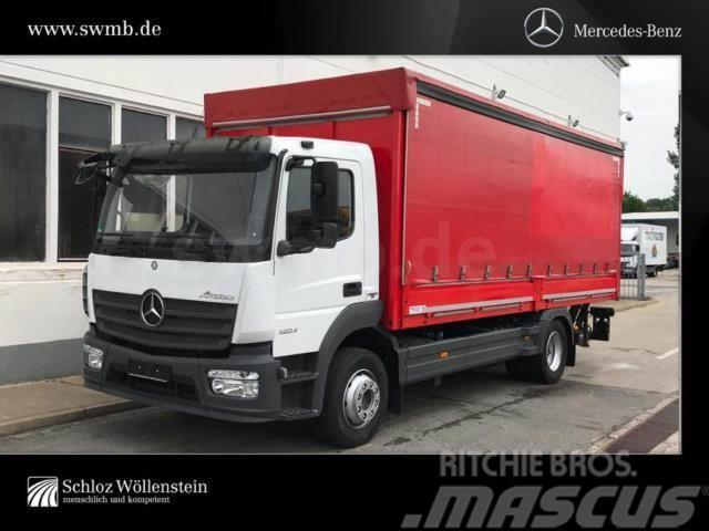 Mercedes-Benz Atego 1224L Pritsche/Plane 6,1m/LBW BÄR 2t/2xAHK