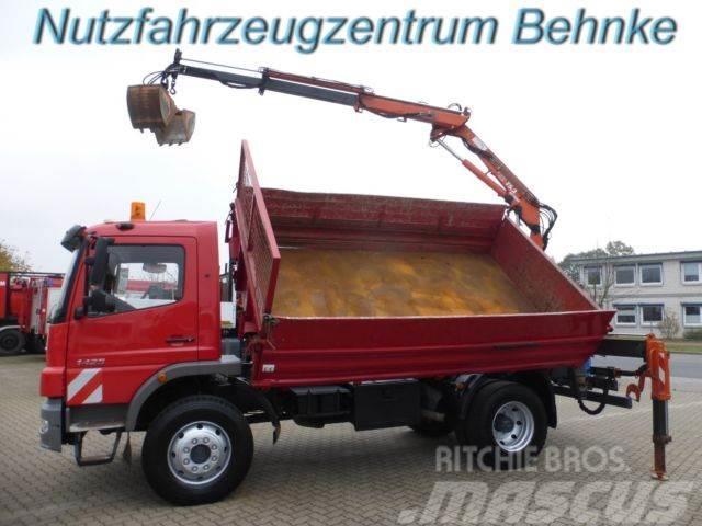Mercedes-Benz Atego 1425 AK Kipper Atlas 75.2 m. 5+6 Kreis AHK