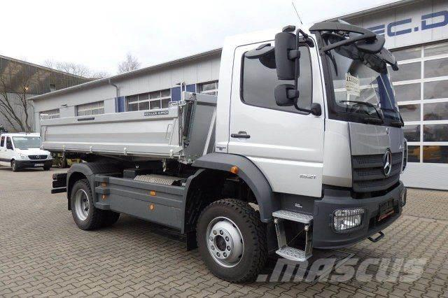 Used mercedes benz atego 1521 4x4 euro 6 meiller kipper for Used mercedes benz tipper trucks for sale in germany
