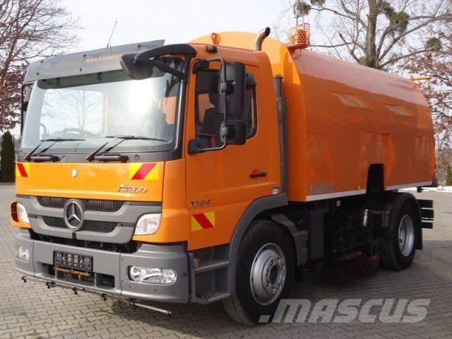 Mercedes-Benz ATEGO 1524 4x2 E5 Kehrmaschine Schmidt SKF S7B