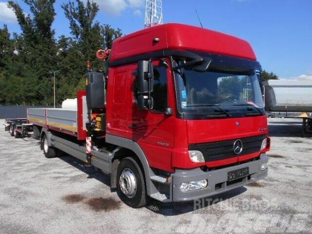 Mercedes-Benz ATEGO 1529 4X2 Pristche mit KRAN mit BDF