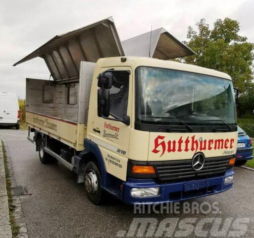 Mercedes-Benz Atego 815 / 5m / Blatt-Blatt / Difflock
