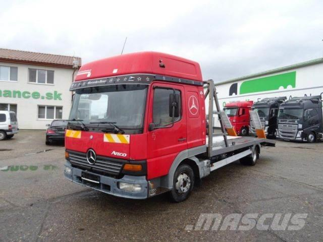 Mercedes-Benz ATEGO 815 recovery vehicle,manual, vin 391