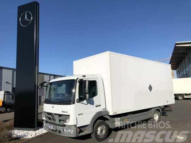 Mercedes-Benz Atego 816 4x2 Möbelkoffer 6,00m + Portaltüren