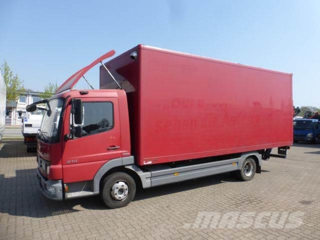 Mercedes-Benz Atego 816 BB Koffer LBW 3 Sitze 124Tkm EU5