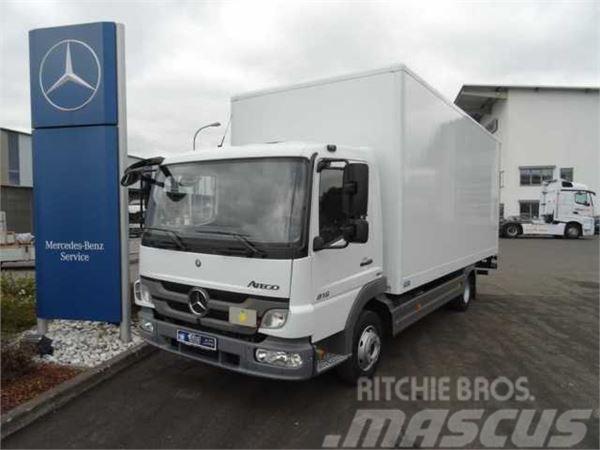Mercedes-Benz Atego 816 L Koffer + LBW + AHK