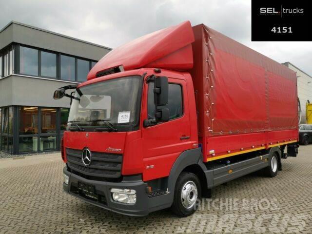 Mercedes-Benz Atego 816 /Ladebordwand/Seitentür/Rückfahrkamera