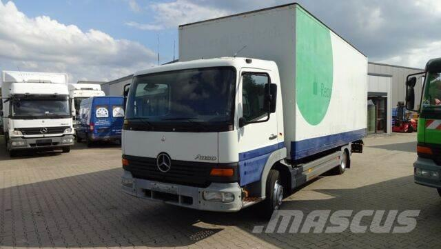 Mercedes-Benz Atego 817 4-Zyl. 4x2 Koffer Ladebordwand