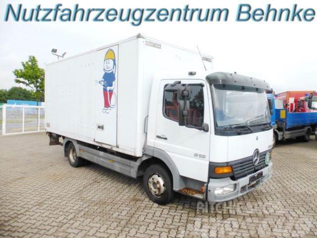 Mercedes Benz Atego 818 Bb Koffer Lbw Seitl Tür 2xahk 3 Sitze