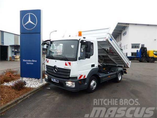 Mercedes-Benz Atego 818 K Kipper, 2 x AHK