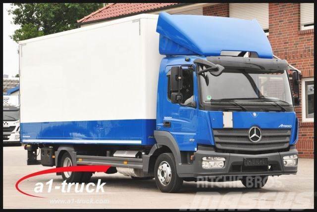 Mercedes Benz Atego 818 L Koffer Lbw Euro 6 Top Zustand
