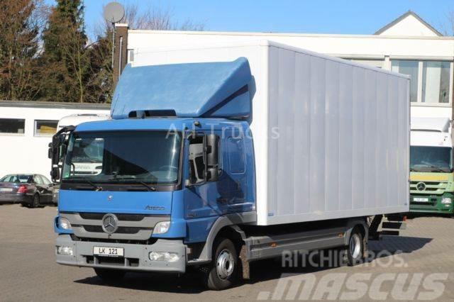 Used Mercedes-Benz -atego-ii-824-euro5-kleider-textil-koffer-liege ...