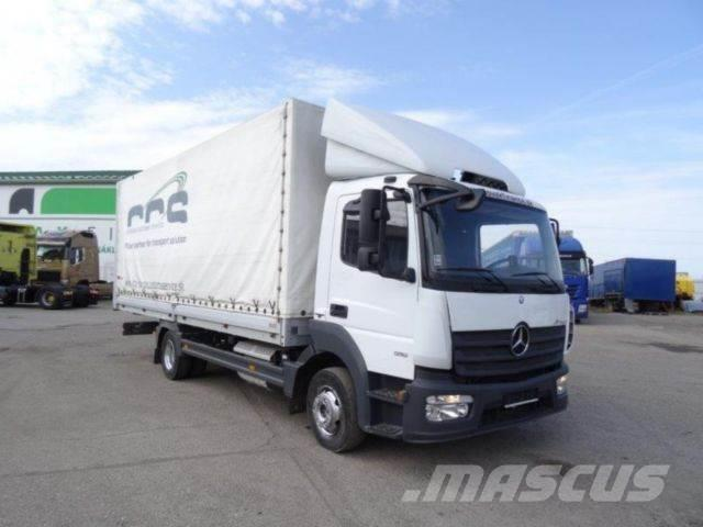 Mercedes-Benz ATEGO916 flatbed with sides,Euro6,Manual,vin 488