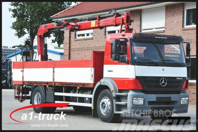 Mercedes-Benz Axor 1828 L Hiab 144B-2CL L alter Tacho,