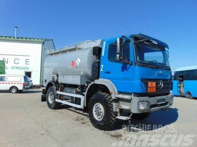 Mercedes-Benz AXOR 1829 AK 4x4 ADR tank for Diesel,6m3, E4,834