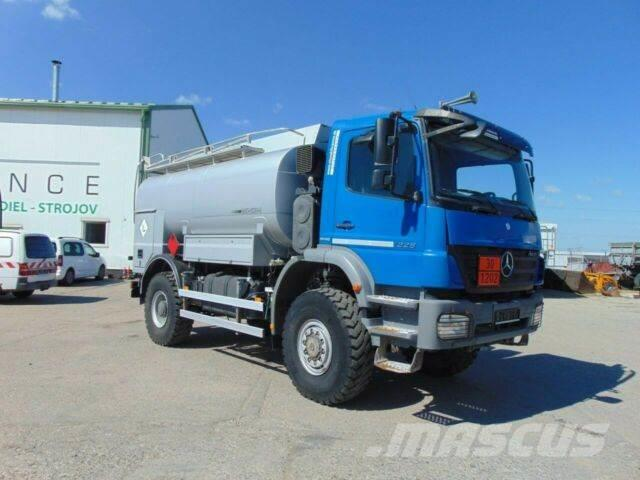 Mercedes-Benz AXOR 1829 tank for Diesel 4x4 , 6m3 vin 200