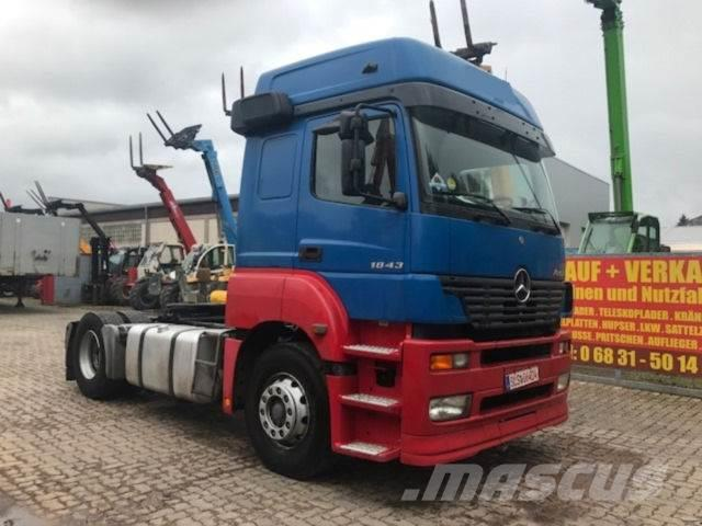 Used mercedes benz axor 1843 sattelzugmachine tractor for Mercedes benz f cell price