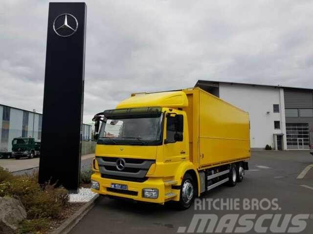 Mercedes-Benz Axor 2529 LL 6x2 Schwenkwand Lenkachse Kamera
