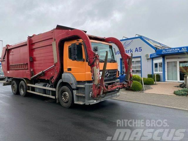 Mercedes-Benz Axor 2536 L 6x2 Müllwagen Heil-Aufbau Frontlader
