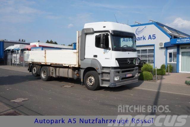 Mercedes-Benz Axor 2543 Baustoff Pritsche BDF Retarder