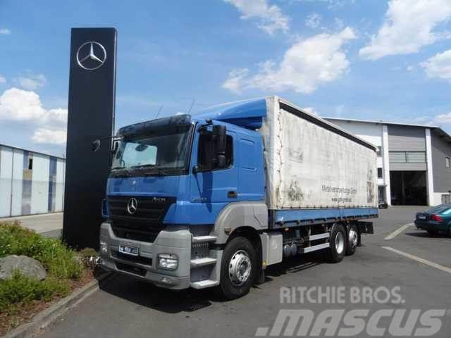 Mercedes Benz Axor 2543 L 6x2 Pritsche Plane 7 20m Klima Tautliner