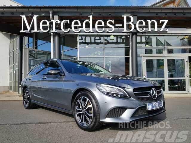 Mercedes-Benz C 180 T AVANTGARDE+NIGHT+AHK+ LED+NAVI+360°+SHZ