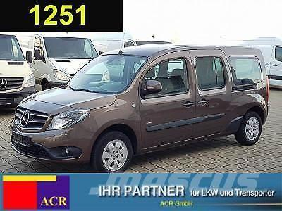 mercedes benz citan 111 cdi tourer edition xl 7 sitze klima na mini bus price 12 185 year. Black Bedroom Furniture Sets. Home Design Ideas