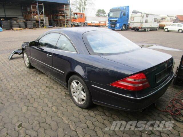 used mercedes benz cl 500 cars year 2001 price 5 709. Black Bedroom Furniture Sets. Home Design Ideas