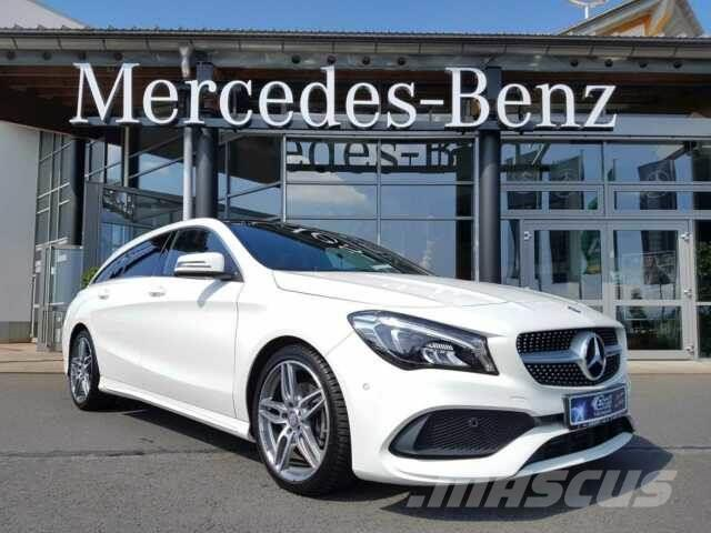 used mercedes benz cla 200 shooting brake amg led psd. Black Bedroom Furniture Sets. Home Design Ideas