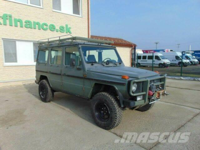 Mercedes-Benz G 230 GE manual 4x4 vin 719