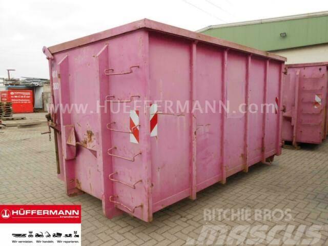 Mercedes-Benz // GARANT / 17 cbm CITY-Abrollcontainer