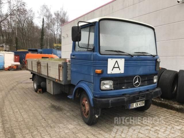 Used mercedes benz lp808 oldtimer baujahr 1976 pickup for Mercedes benz truck models