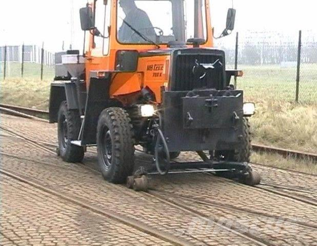 Mercedes-Benz MB trac 700 K Road and Rail,Unimog,Mb trac
