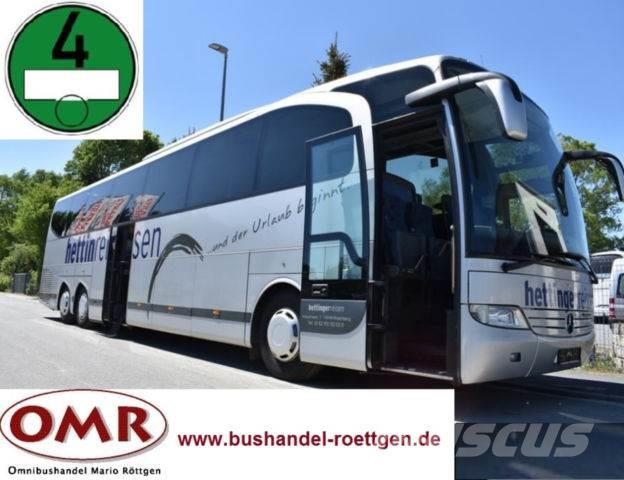 Mercedes-Benz O 580 - 17 RHD Travego/417/1218/analoger Tacho
