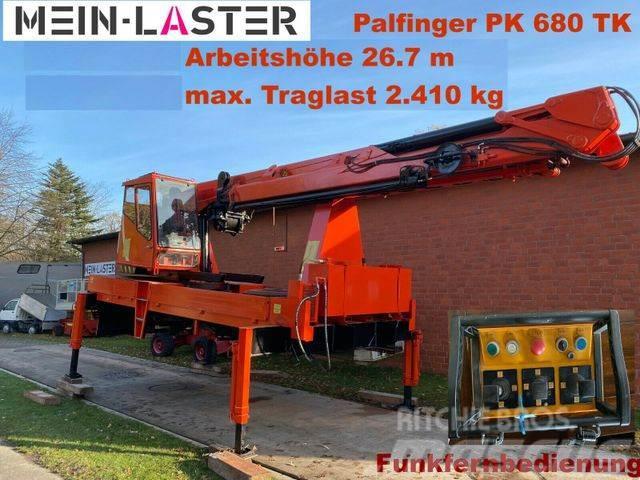 Mercedes-Benz Palfinger PK 680 TK 26,7 m-max.2.410 kg -Funk FB