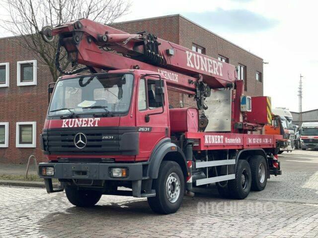 Mercedes-Benz SK 2631 - 6x4 / Cormach 87000 / Dachdecker