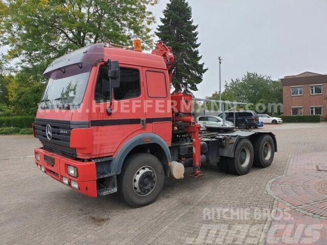 Mercedes-Benz SK 2644 S 6x4 Blatt Ladekran ATLAS 130.1-10,3/3