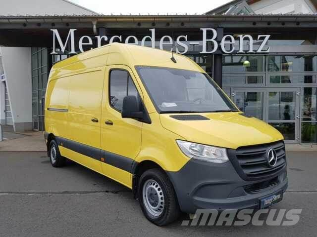 Mercedes-Benz Sprinter 214 CDI 9G TRONIC MBUX AHK Standheiz