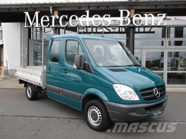 Used mercedes benz sprinter 313 cdi doka tiefe pritsche for Mercedes benz sprinter 313