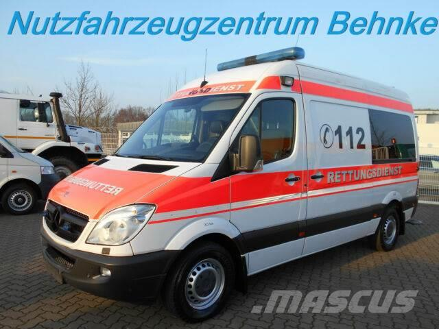 b88f1818c3 Mercedes-Benz Sprinter 313 CDI KTW Hospimobil m.Lift  HU 01.20 ...