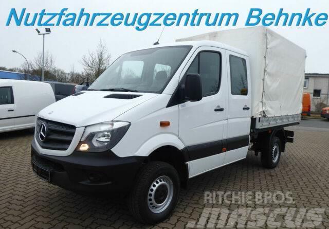 Mercedes-Benz Sprinter 313 CDI 4X4 Doka Pritsche Klima Standhz