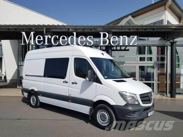 Mercedes-Benz Sprinter 314 3665 DoKa/Mixto Regal Kamera Stdh