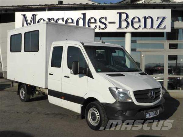 used mercedes benz sprinter 316 cdi doka koffer klima ahk. Black Bedroom Furniture Sets. Home Design Ideas