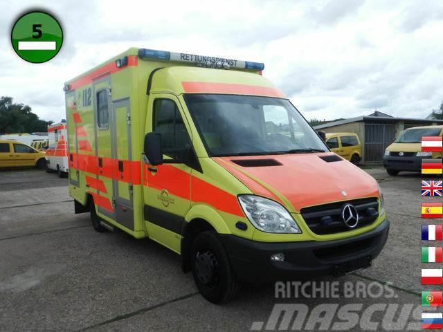 Mercedes-Benz Sprinter 416 CDI Rettungswagen - KLIMA Zusatzhei