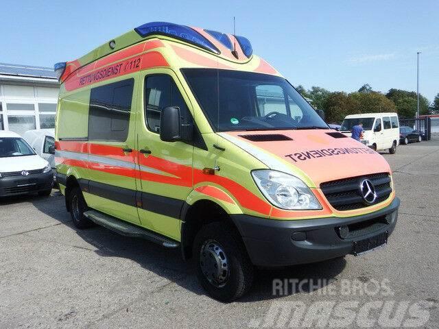 Mercedes-Benz Sprinter 515 CDI 4X4 Krankenwagen - KLIMA Rettu