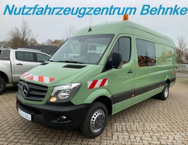 Mercedes-Benz Sprinter 516 CDI Mixto L3H2/5 Sitze/AHK 3,5t/EU6