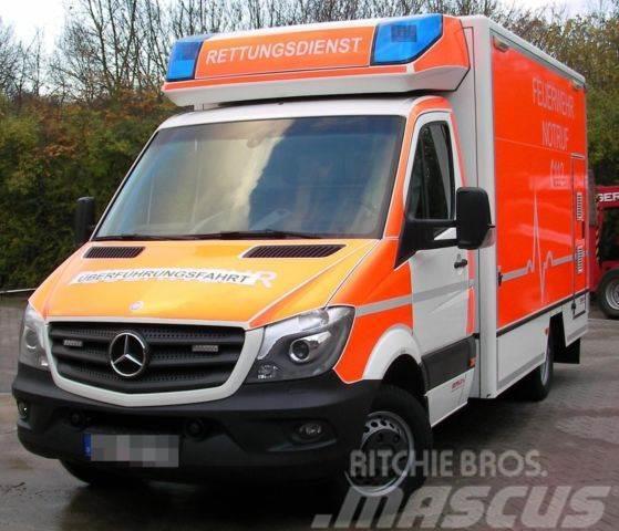 Exceptional Mercedes Benz Sprinter RTW Rettungswagen Fahrtec Aufbau, 2014, ...