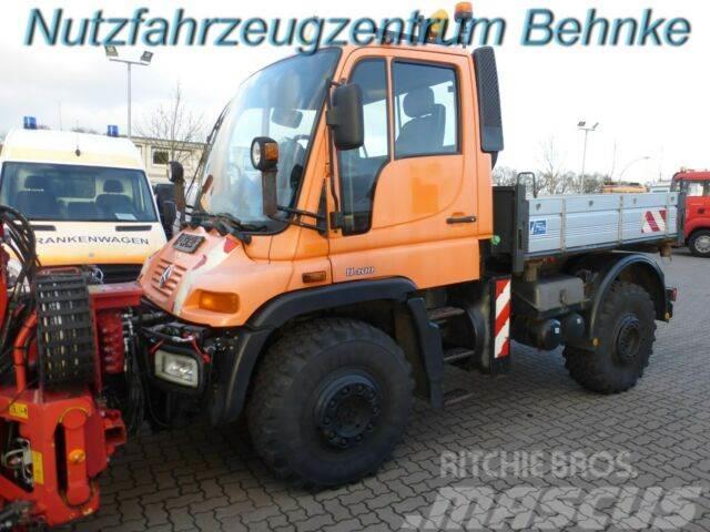 Mercedes-Benz U 400 Pritsche Komunalausf. HU 02/20 EU3