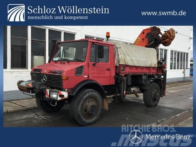 Mercedes Benz Unimog For Sale Usa >> Used Mercedes-Benz -unimog-u1550l-palfinger-pk-16000 flatbed / Dropside Year: 1994 Price ...